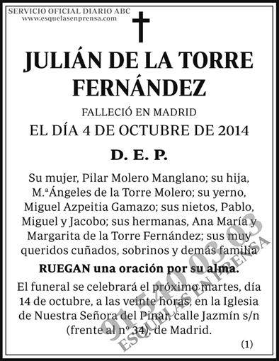 Julián de la Torre Fernández